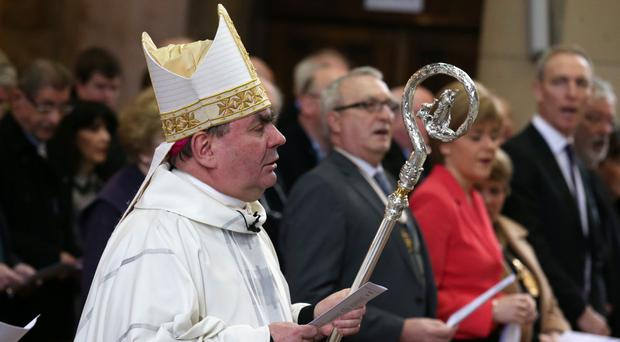 Bishop of Motherwell Joseph Toal, who oversees the Scottish Catholic Safeguarding Service (Andrew Milligan/PA)