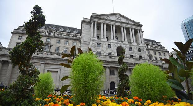 File photo dated 22/08/18 of the Bank of England. Bank of England policymakers are set to keep interest rates on hold again next month as economic growth slows sharply after a stock-building boost at the start of 2019.