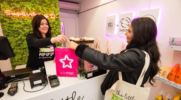 Customers picked up more vegan products and suncare last year (PA)