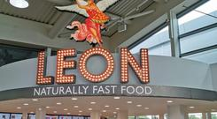 Healthy fast food chain Leon is opening 12 new sites in motorway service stations (Leon/PA)