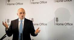 Sajid Javid said the new programme would broaden the geographical focus beyond the Middle East and north Africa (Stefan Rousseau/PA)