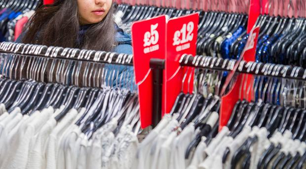 A cross-party group of MPs produced a report on the impact of so-called fast fashion (Anthony Upton/PA)