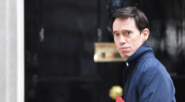 Rory Stewart arrives for a Cabinet meeting at 10 Downing Street (Stefan Rousseau/PA)