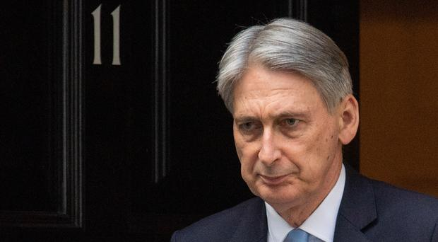 Chancellor of the Exchequer Philip Hammond (Dominic Lipinski/PA)