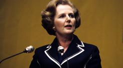 Former prime minister Margaret Thatcher. (PA/Press Association Images)