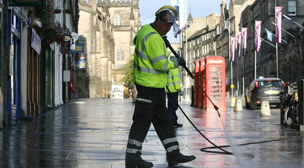 All but three of Scotland's councils needed to use reserve funds to help pay for day-to day services. (Edinburgh City Council/PA)