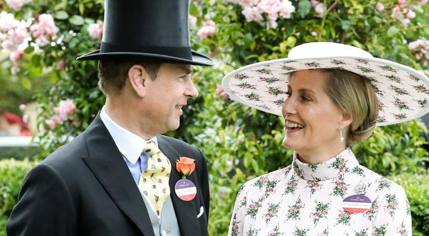 The Earl and Countess of Wessex at Royal Ascot (Chris Jackson/PA)