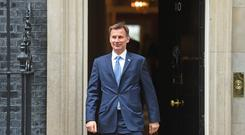 Foreign Secretary Jeremy Hunt (David Mirzoeff/PA)