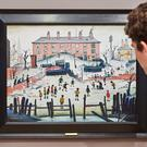 A Cricket Match by LS Lowry, which fetched £1.2 million at auction (Sotheby's/PA)