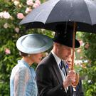 The Duke and Duchess of Cambridge during day one of Royal Ascot at Ascot Racecourse (PA)