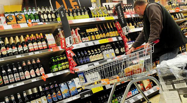 The amount of pure alcohol sold per person in Scotland reached its lowest level since 1994 (Rui Viera/PA)