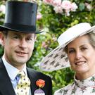 The Earl and Countess of Wessex in a photograph released to mark their 20th wedding anniversary (Chris Jackson/PA)