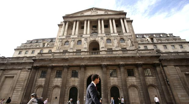Bank policymakers are set to hold interest rates again on Thursday as economic growth slows sharply after a stock-building boost at the start of 2019 (PA)