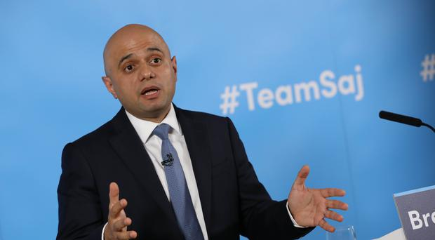 Sajid Javid launches his campaign to become leader (Rick Findler/PA)