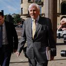 Former Tory MP Harvey Proctor arrives at Newcastle Crown Court to give evidence in the trial of Carl Beech (Owen Humphreys/PA)