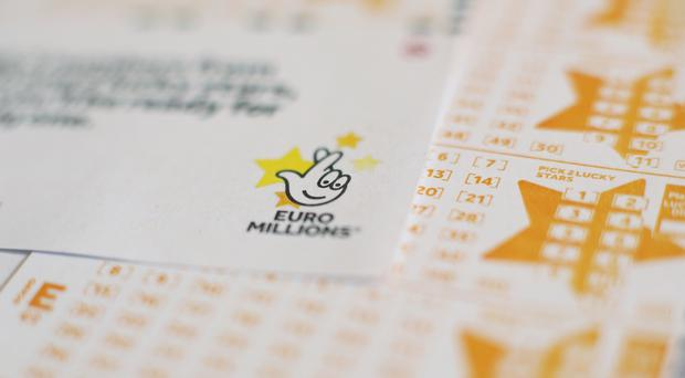 The winning ticket is worth £123,458,008 (PA)