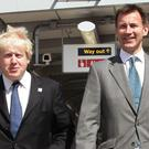 Boris Johnson and Jeremy Hunt (Yui Mok/PA)