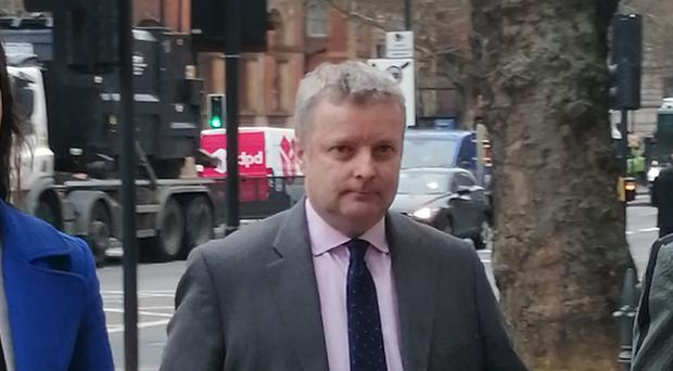 Christopher Davies arriving at Westminster Magistrates' Court (Alfred Collyer/PA Wire)