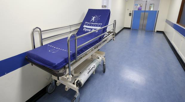 The NHS is being forced to use emergency beds to cope with rising demand, the BMA says (Lynne Cameron/PA)