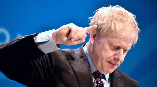Boris Johnson was criticised by some for a lack of answers on Brexit (Ben Birchall/PA)