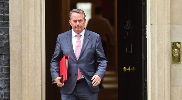 International Trade Secretary Liam Fox (David Mirzoeff/PA)