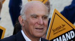 Sir Vince Cable says his party should not be smug about the failure of Change UK (Andrew Milligan/PA)