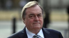 Lord Prescott is in hospital (Lewis Whyld/PA)