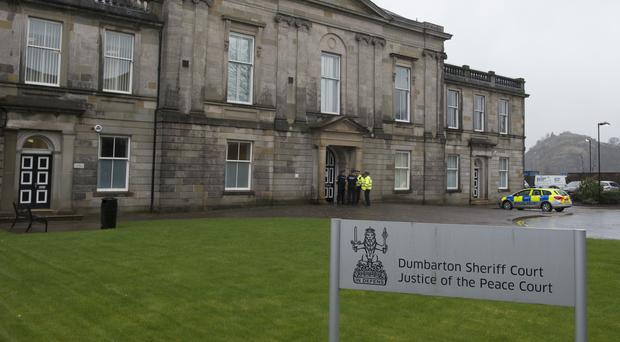The man is to appear at Dumbarton Sheriff Court (John Linton/PA)