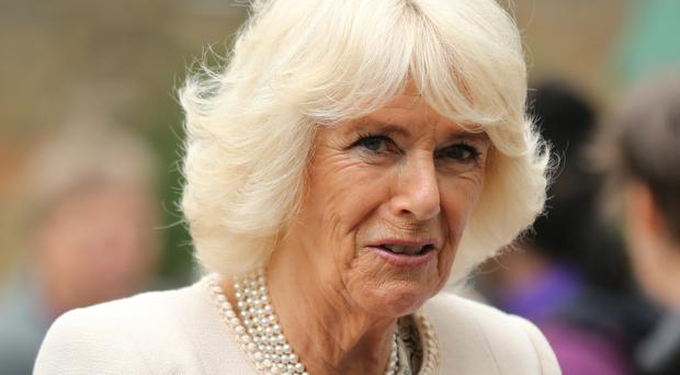 Camilla is known as the Duchess of Rothesay when in Scotland (Isabel Infantes/PA)