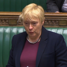 Labour MP Angela Eagle addresses the Commons (PA)