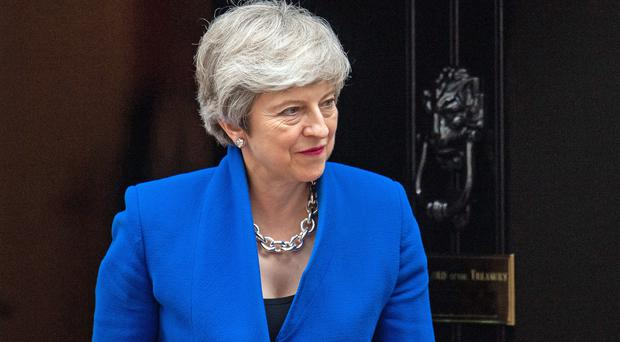 Theresa May is looking to secure a political legacy from her time as PM (Dominic Lipinski/PA)