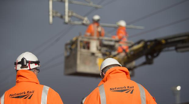 Network Rail is among a group acting in partnership with Midlands Connect (Network Rail/PA)
