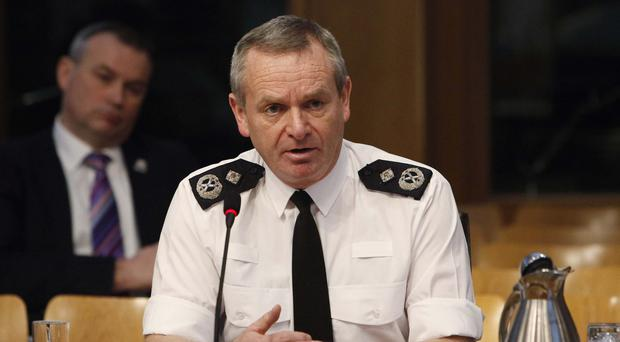 Police Scotland's Chief Constable Iain Livingstone has spoken out about the difficulty striking a balance between data privacy and sharing information to protect people (Andrew Cowan/Scottish Parliament/PA)