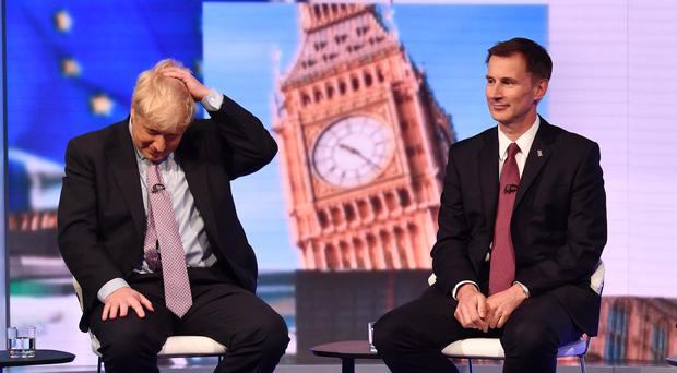 One of Boris Johnson or Jeremy Hunt will be the new prime minister (Jeff Overs/BBC)