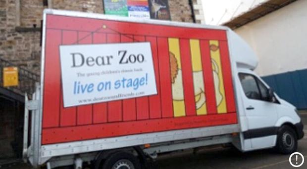 The Dear Zoo van had its tracking device removed and was fitted with cloned number plates (Cambridgeshire Police/PA)
