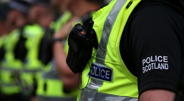Police Scotland have seized £1.5 million worth of what they suspect is cocaine in a raid in Glasgow (Andrew Milligan/PA)