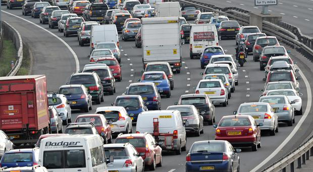Thousands of extra car journeys are expected this weekend due to rising temperatures (Tim Ireland/PA)