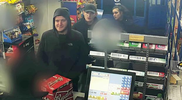 A CCTV image of the defendants (Greater Manchester Police/PA)