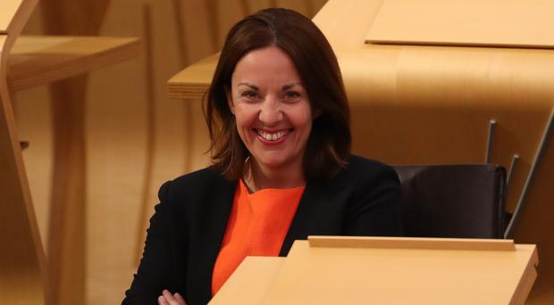 Former Scottish Labour leader Kezia Dugdale warned there is a 'serious prosepct' of another vote on independence. (Jane Barlow/PA)