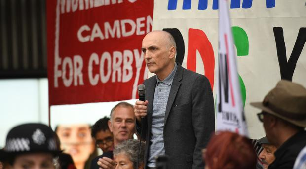Chris Williamson MP (Stefan Rousseau/PA)