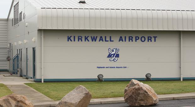 Kirkwall Airport is one of the sites affected by the industrial action (David Cheskin/PA)