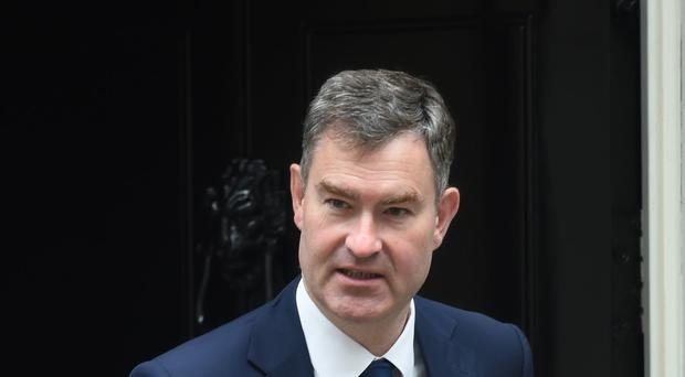 Justice Secretary David Gauke survived a no-confidence vote (David Mirzoeff/PA)