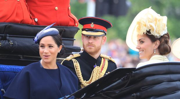 The Duke and Duchess of Sussex (Gareth Fuller/PA)