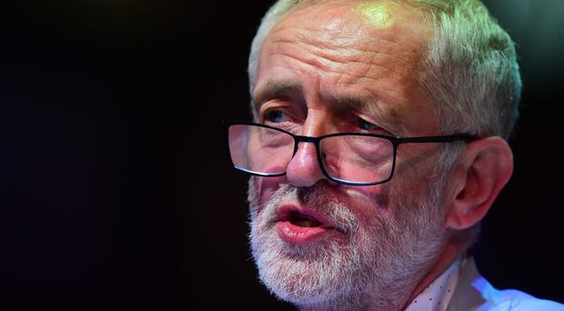 Jeremy Corbyn, who has raised concerns over the neutrality of the civil service after officials reportedly briefed a newspaper with allegations that he may have to stand down as Labour leader over supposed health issues (PA)