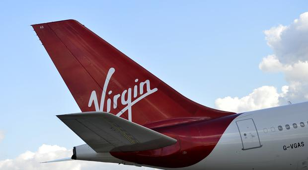 The Virgin Atlantic flight made an emergency landing at Boston (Hannah McKay/PA)