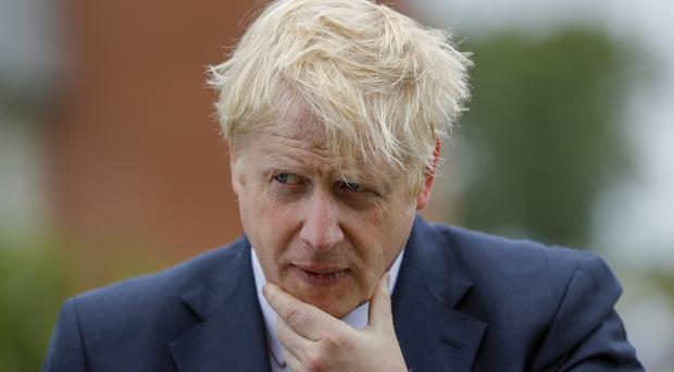 Sensitive information was reportedly withheld from Boris Johnson while he was foreign secretary (Darren Staples/PA)