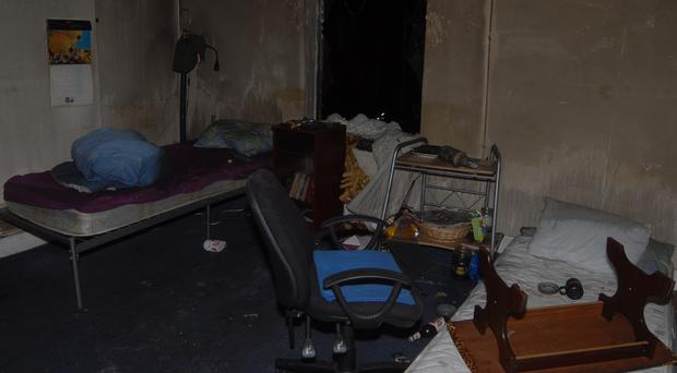 Squalid living conditions (West Midlands Police/PA)