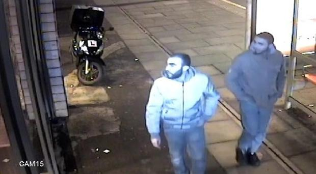 Redouane and Zaghba, seen on CCTV the day before the attack (Met Police/PA)
