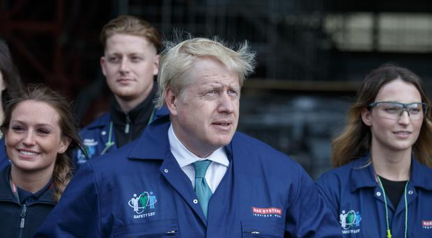 Boris Johnson pledged to fight for the union 'with every breath in my body' (Robert Perry/PA Wire/PA Images)