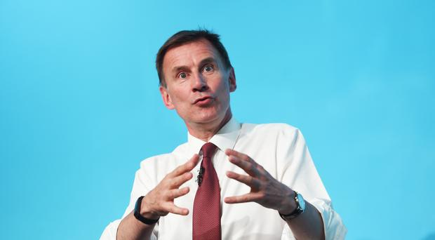 Foreign Secretary Jeremy Hunt said he was 'very concerned' by the announcement from Iran (David Mirzoeff/PA)